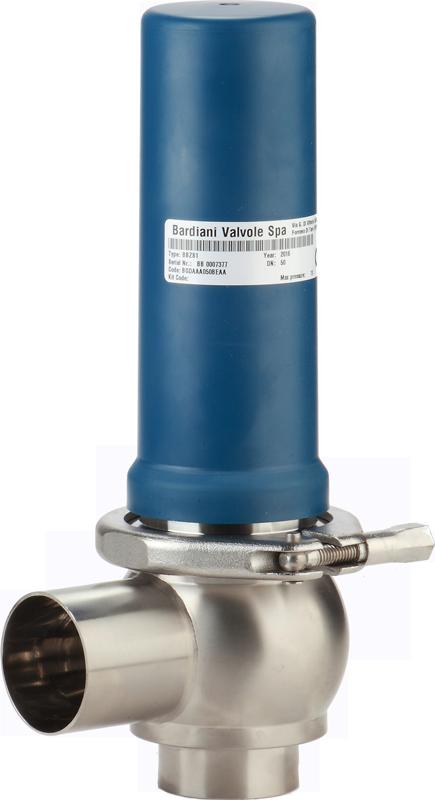 BBZS1 overpressure valve Bardiani