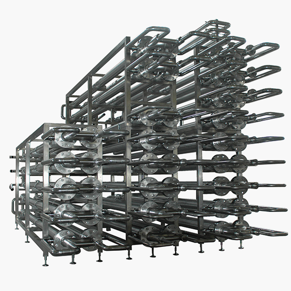 Mixflo multitube anular space serie